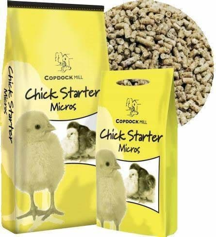 Copdock mill chick starter micros 5kg